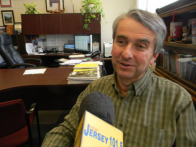 New Jersey State Climatologist Dr. Dave Robinson