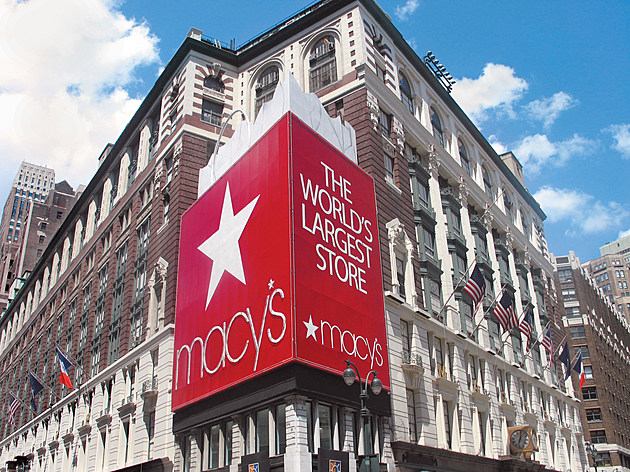 Macy's flagship store in Herald Square