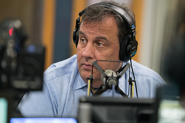 "Gov. Chris Christie joined New Jersey 101.5's Eric Scott Monday. March 27 for ""Ask the Governor"" (Louis C. Hochman / Townsquare Media)"