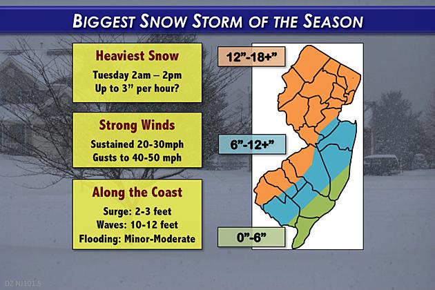 Biggest Snow Storm of the Season 20170312 v2