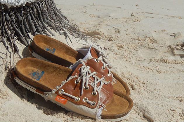 Dorys boat sandal shoes NJ Kickstarter