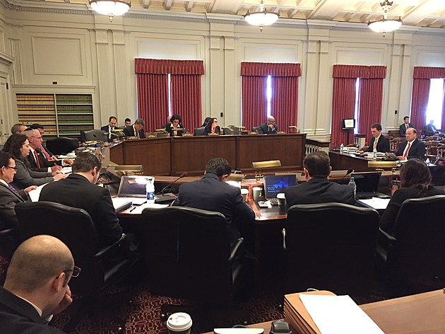 Assembly Budget Committee holds a hearing looking at state revenues for the 2018 budget. (Michael Symons/Townsquare Media NJ)