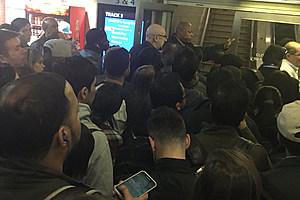 Chaos at New York Penn Station
