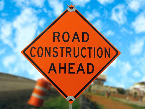 Road construction sign (ThinkStock)