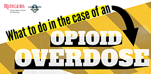 Poster from the opioid abuse toolkit. (Rutgers University)