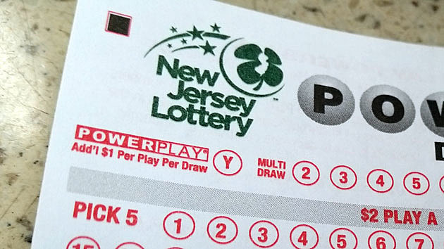 New Jersey Lottery game card