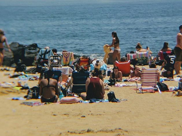 A busy Belmar beach (Photo: Bud McCormick)