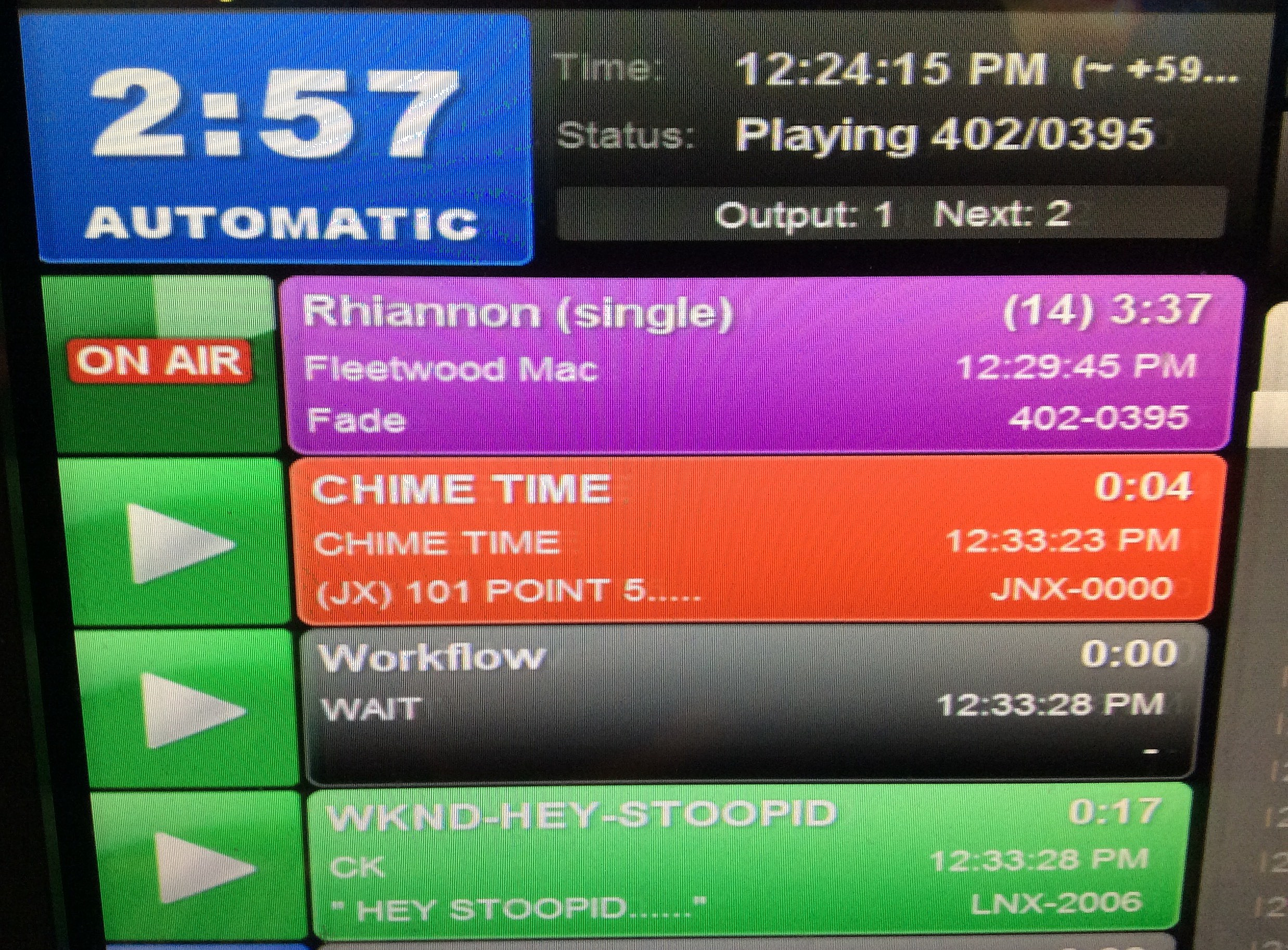 Rhiannon is playing on New Jersey 101.5! (Craig Allen photo).