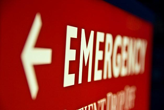 Emergency Arrow Sign