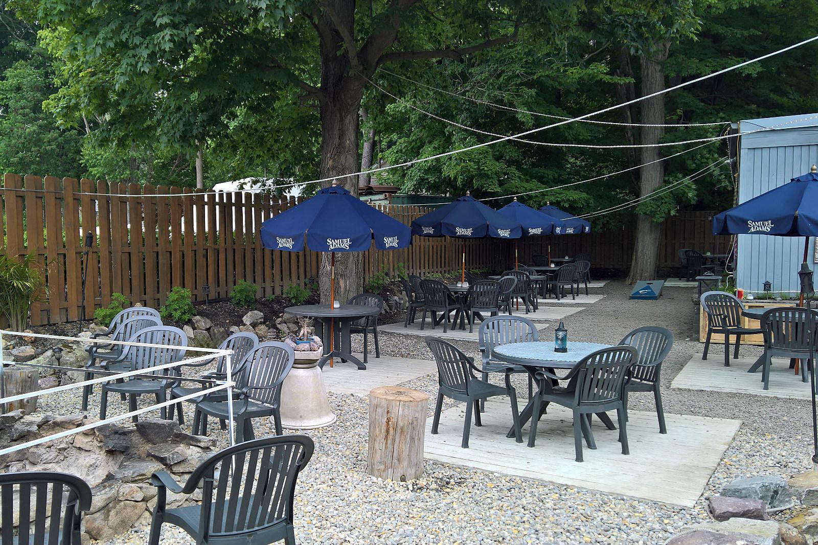 NJ Restaurants Outdoor Dining Upstream Grille Restaurant Lake Hopatcong