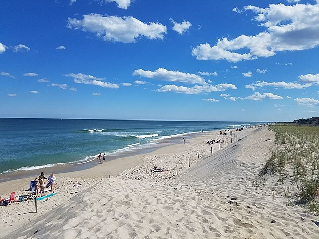 Beach in Harvey Cedars on LBI