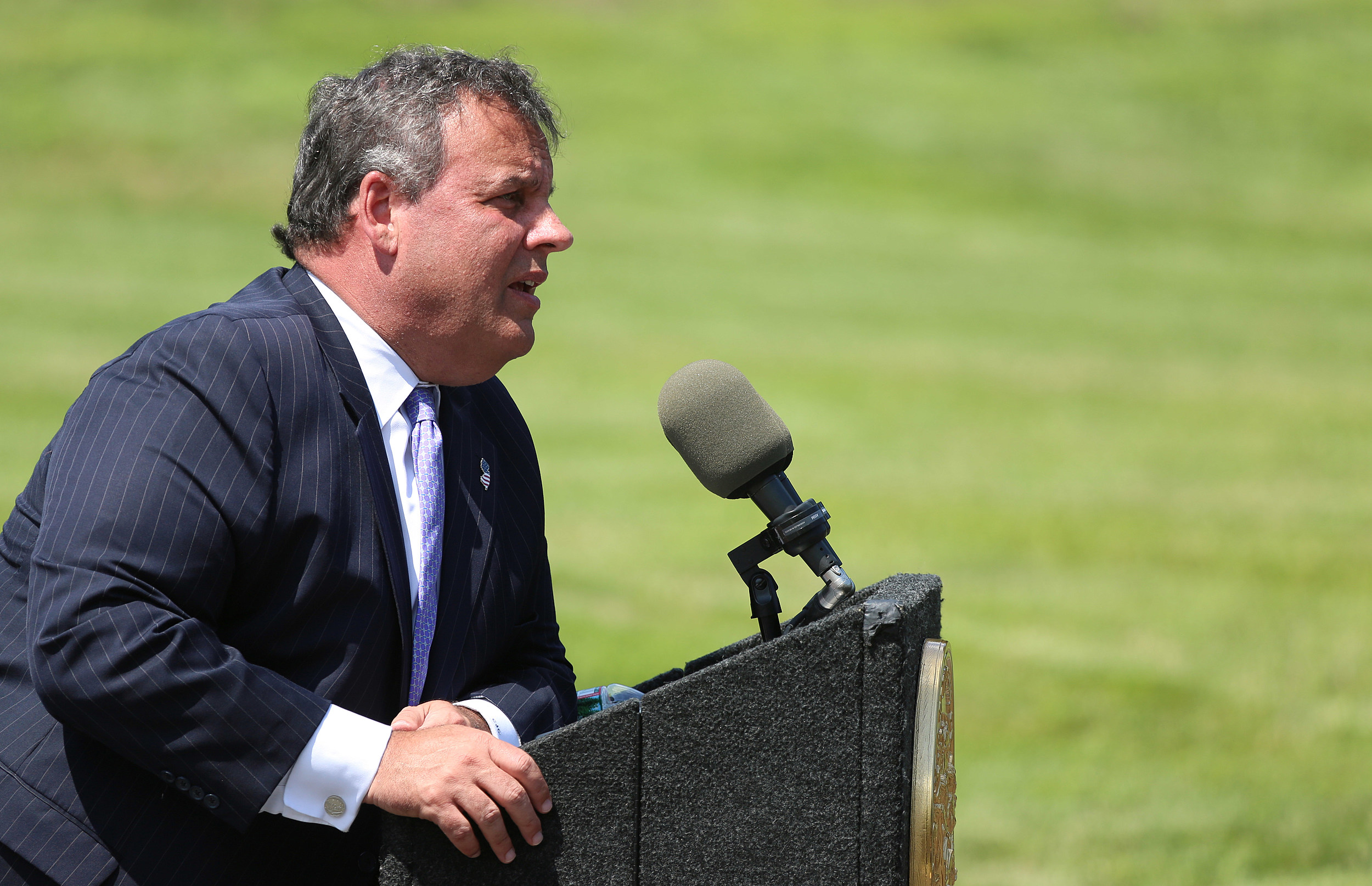 Christie says he'd smack Andrew Cuomo over 'summer of hell' remark