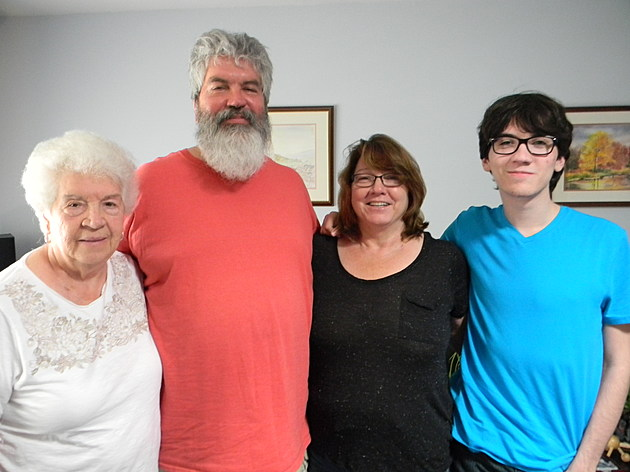 Camilla, George, Patricia and Chris Pankewitch, of Howell