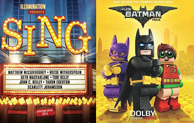 Free movies in NJ summer 2017 Sing Lego Batman