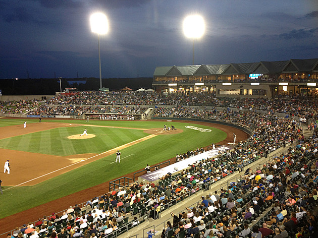 TD Bank Ballpark, home of the Somerset Patriots, in Bridgewater