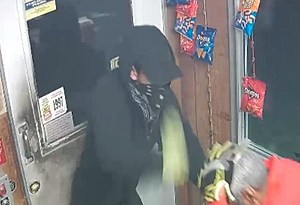 Suspect in the robbery of a Summit Shell gas station
