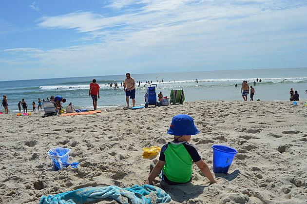A beautiful beach day in Ship Bottom, N.J.  (Dan Zarrow, Townsquare Media)
