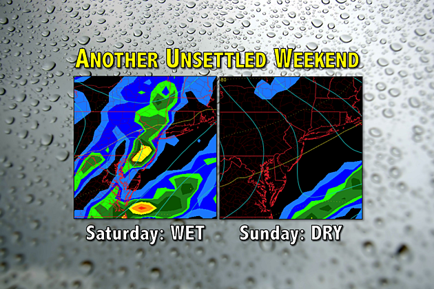 Another Unsettled Weekend 20170811