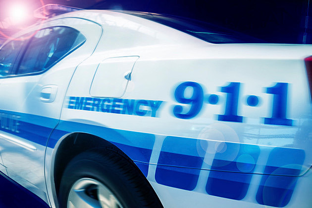 Police car - emergency concept image