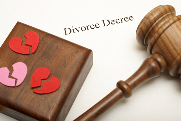 divorce paper terminology