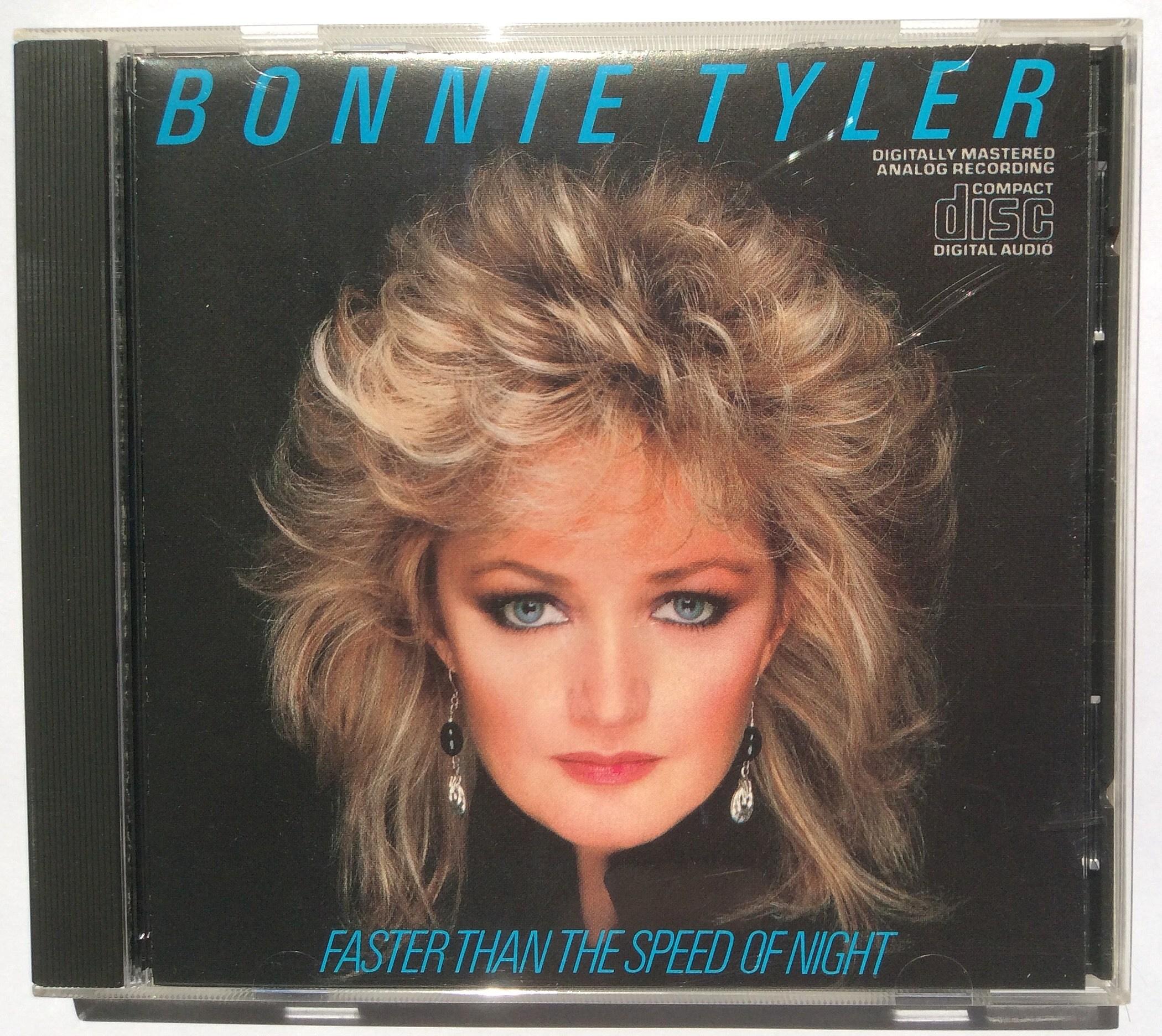 Bonnie Tyler Eclipses All In 1983 Craig Allen Photo