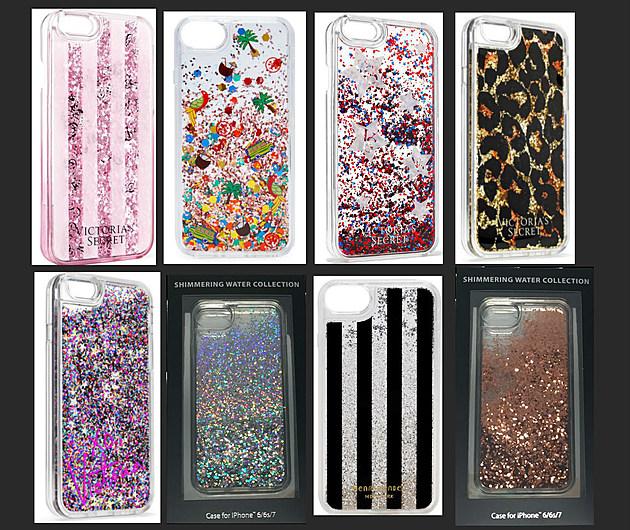 iPhone glitter liquid case recall burns