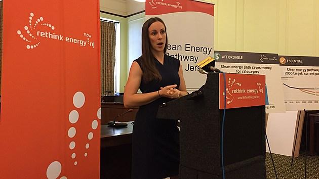 Elena Krieger, director of the clean energy program for PSE Healthy Energy (Michael Symons/Townsquare Media NJ)