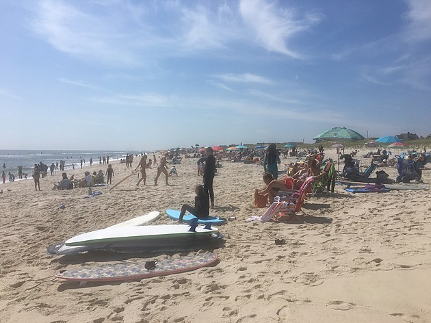 North Ave Beach in Seaside Park