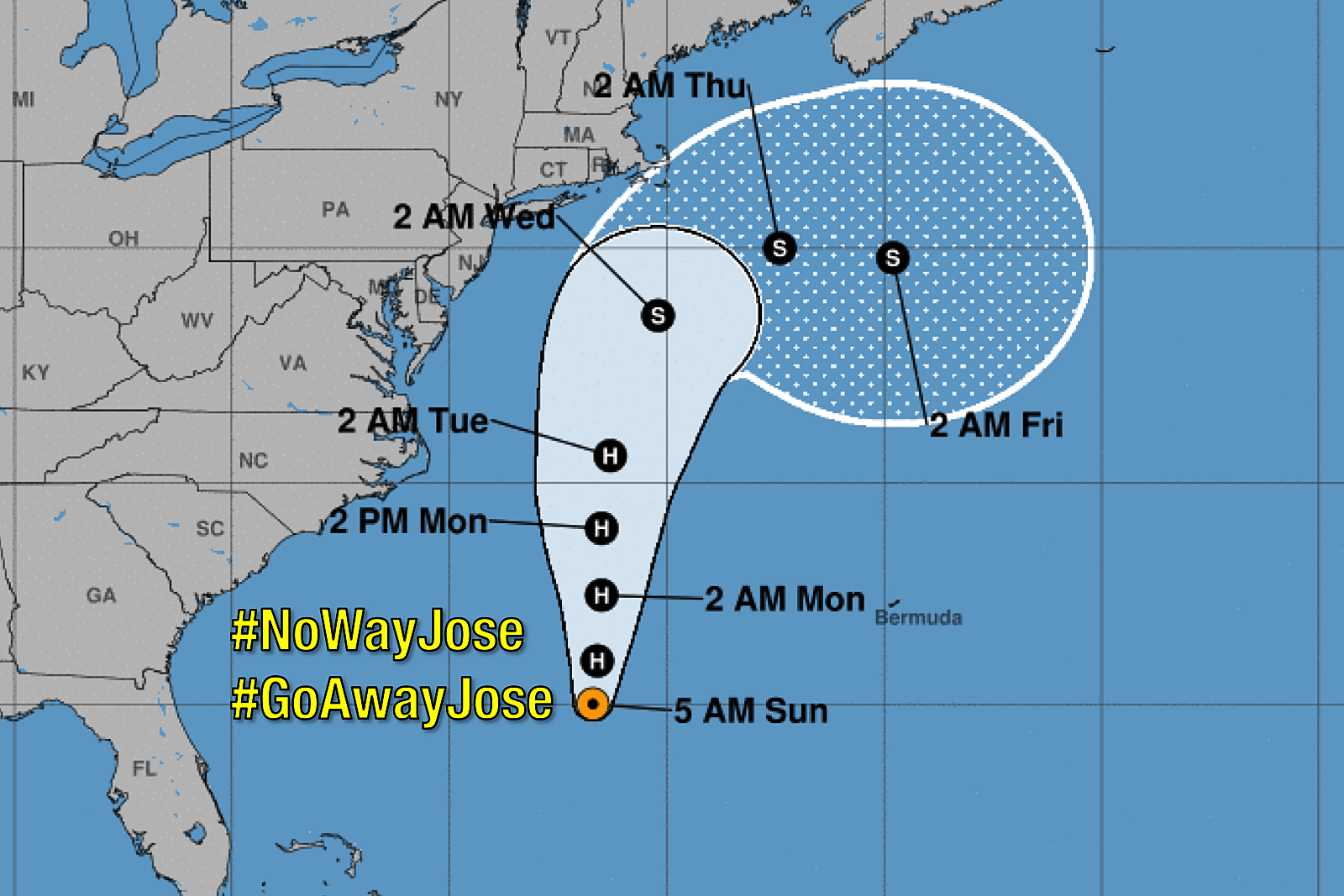nowayjose minor to moderate coastal and weather impacts for nj