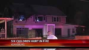 Fire at a home on Raritan Avenue in Keansburg