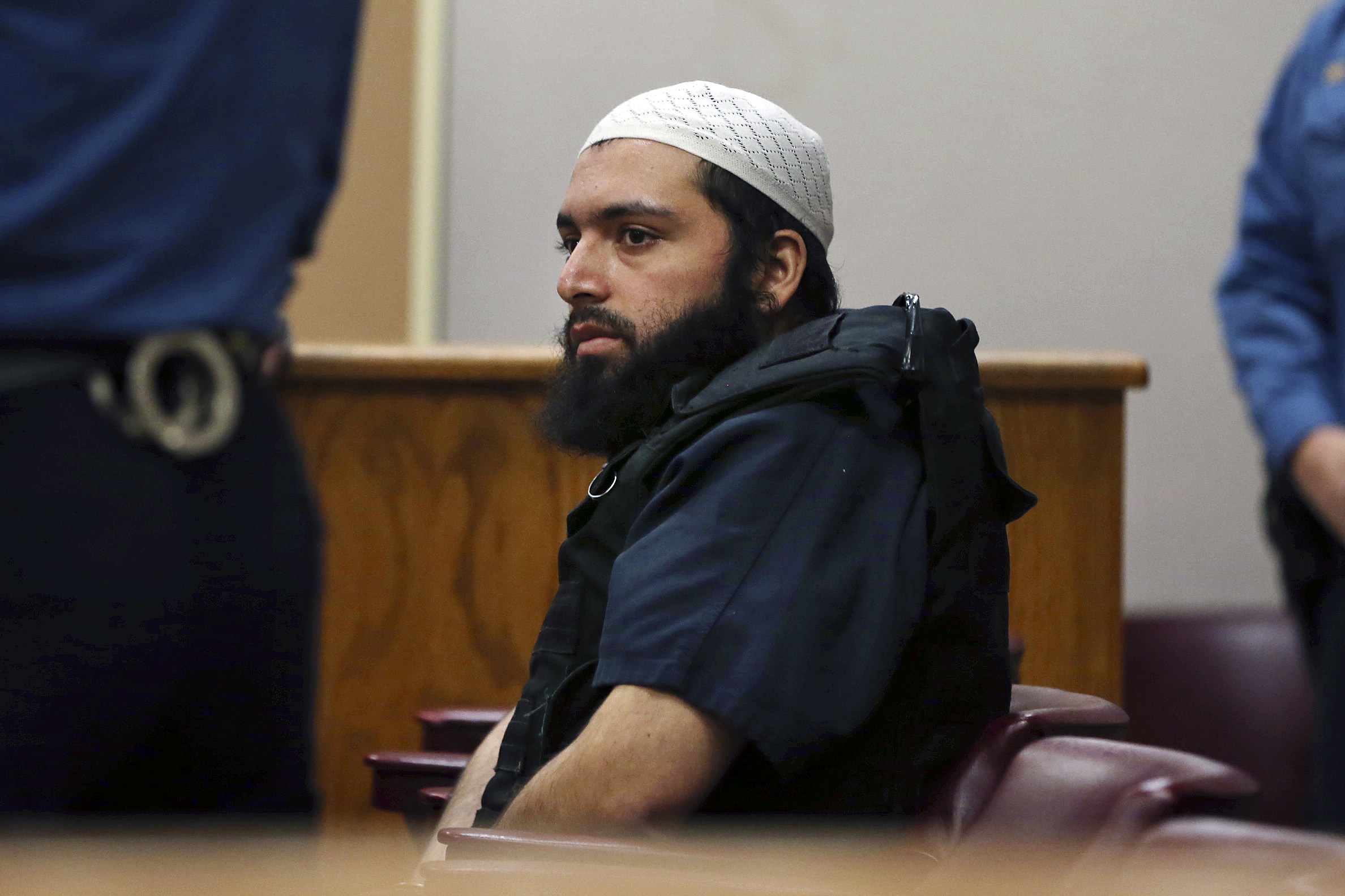 Guilty … again: Jury convicts terrorist in shootout with Linden cops