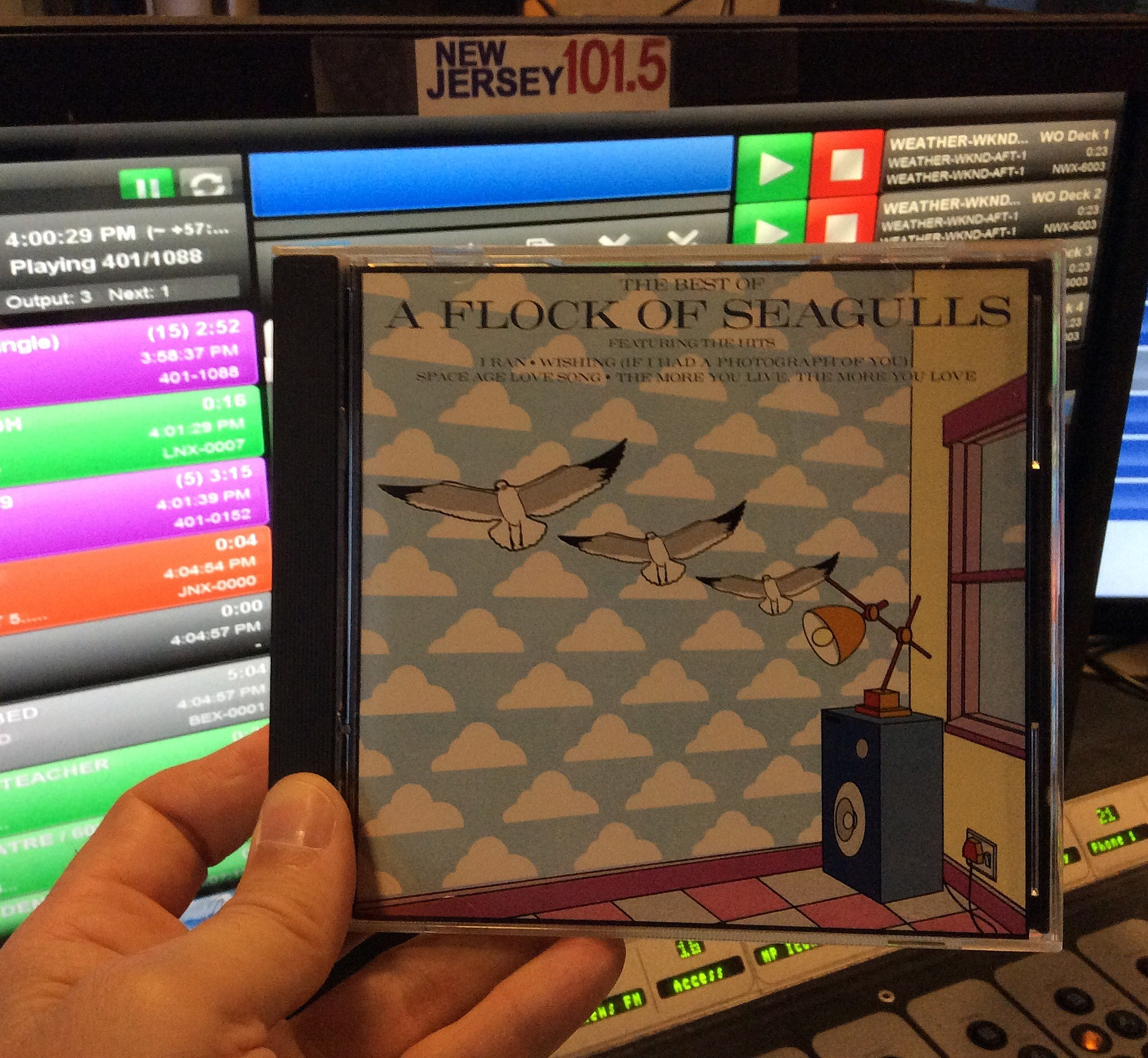"""It's a """"flock of hits"""" on CD from 1991 (Craig Allen photo)."""