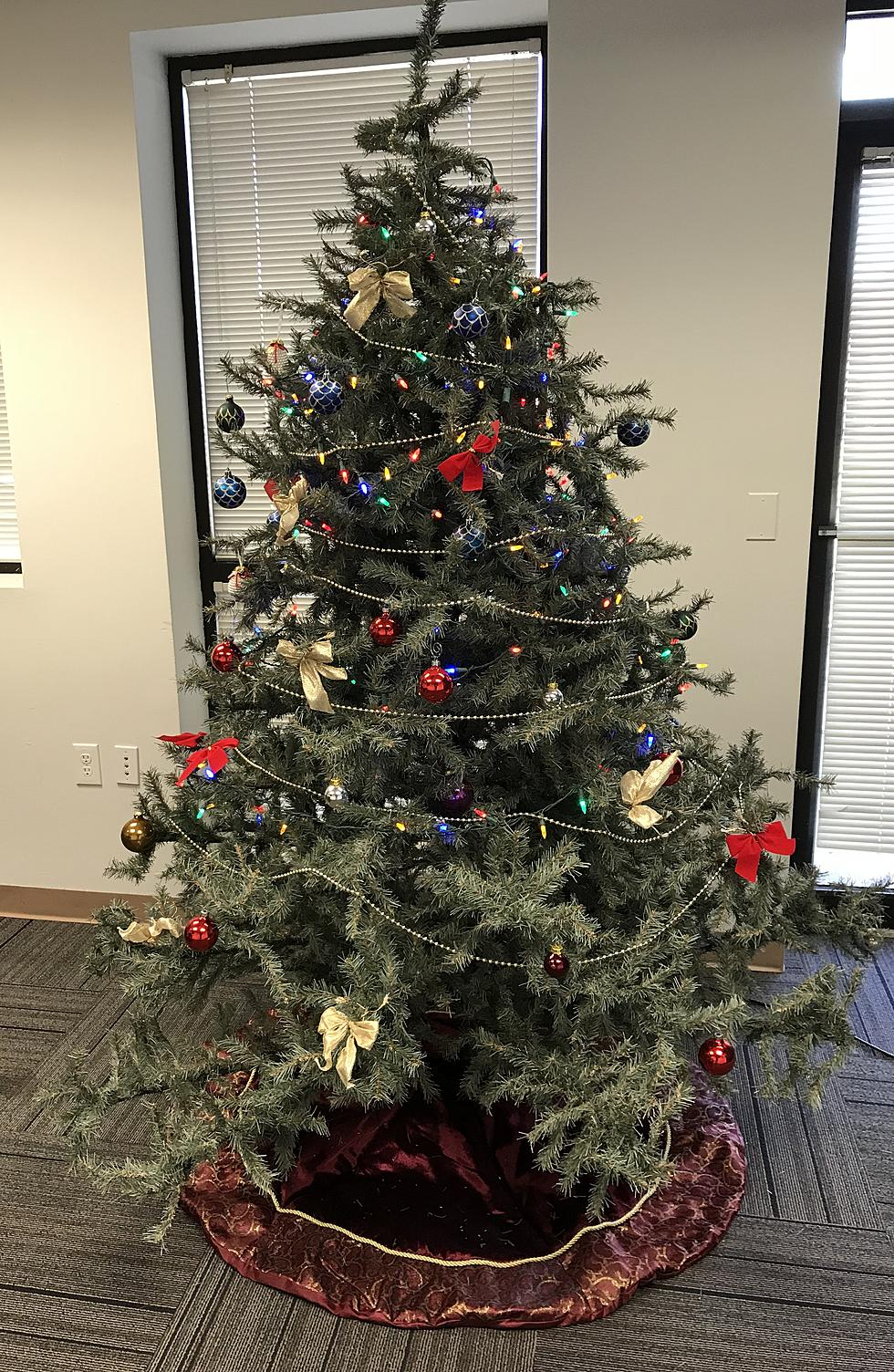 rate our office christmas tree