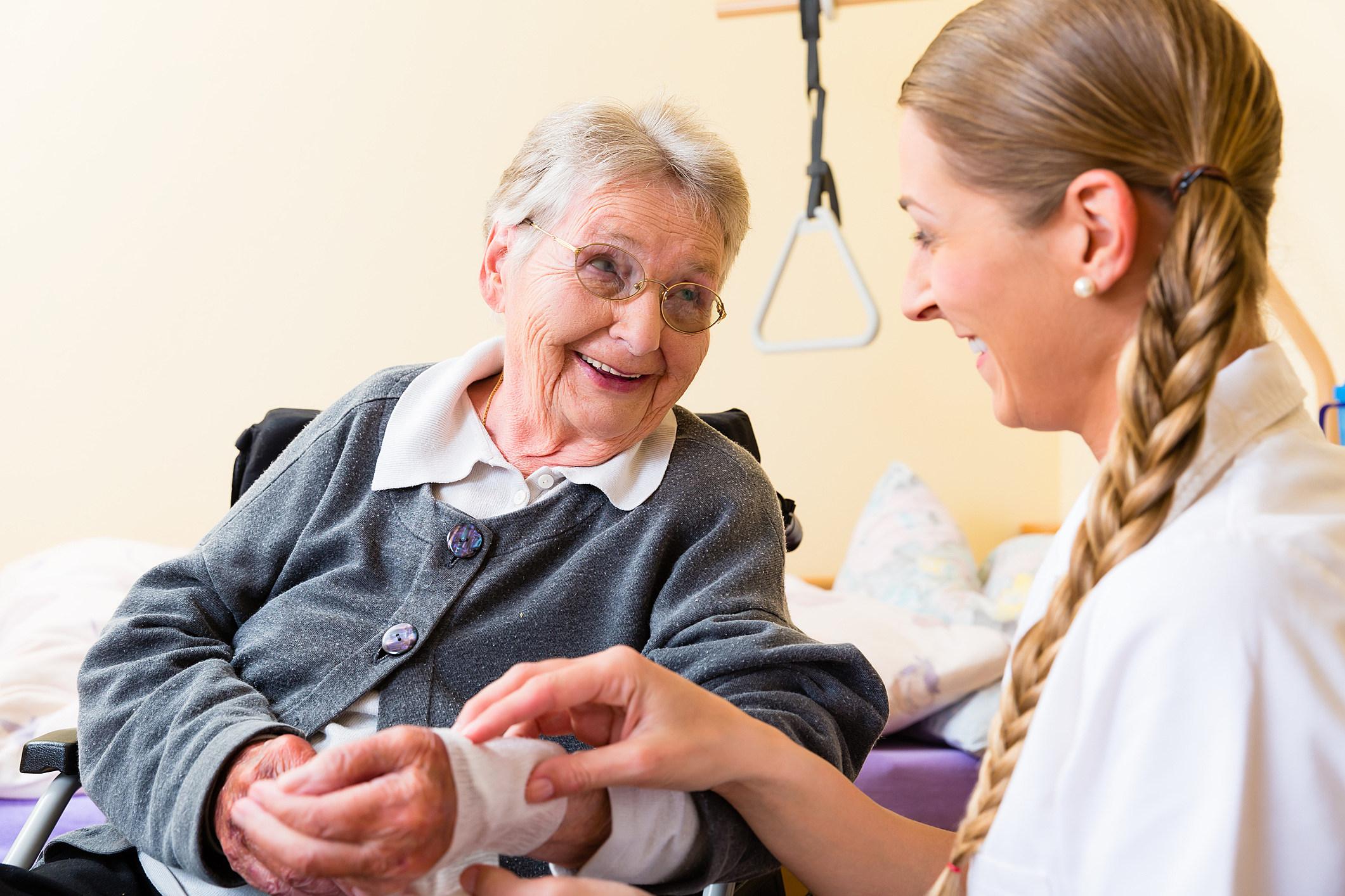 Liquidating assets before nursing home