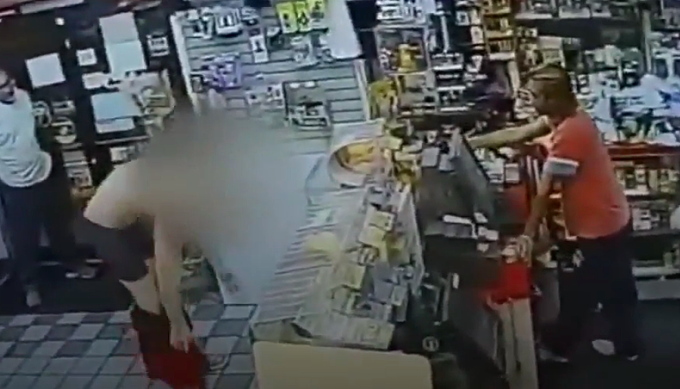NJ store clerk forced suspected thief to get naked at gunpoint — on video