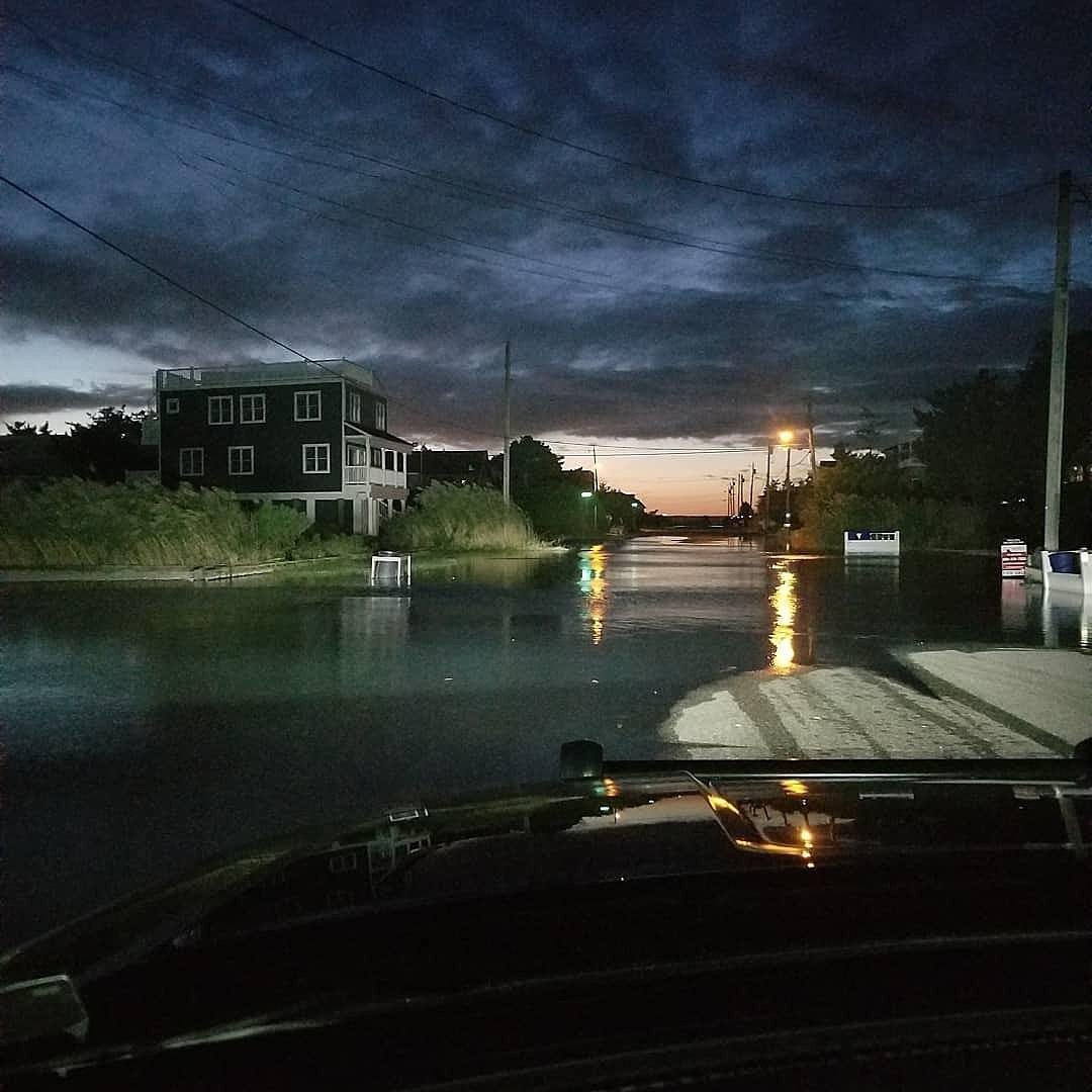 Coastal flooding risk persists as weekend begins
