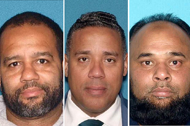 Three of four men facing voting fraud charges in Paterson: Michael Jackson, Alex Mendez, Shelim Khalique (NJ Office of the Attorney General)