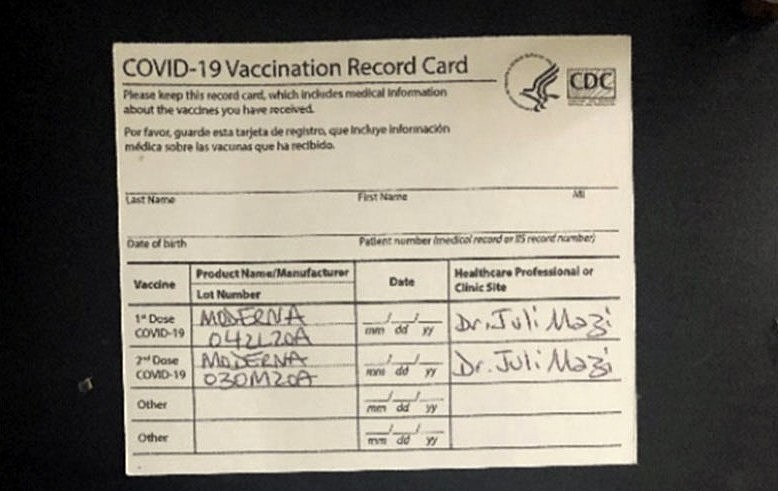 NJ woman known as 'AntiVaxMomma' charged with selling fake vax cards
